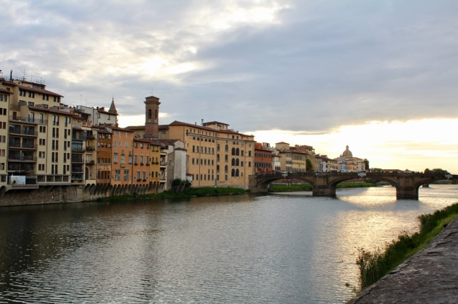 View to The Arno river